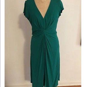 Issa Banana Republic Green Dress